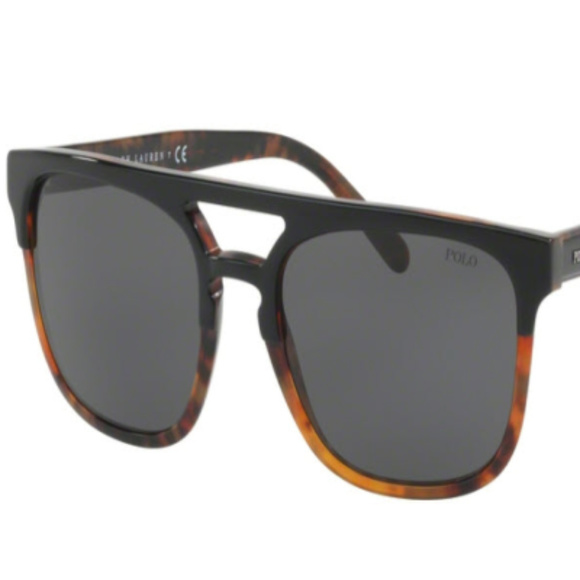POLO Other - NWT Polo PH 4125 526087 Black Sunglasses